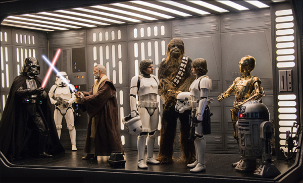 Star Wars Diorama - Death Star interior