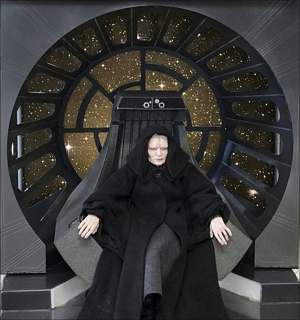Star Wars Diorama - Emperor Palpatine Throne Room