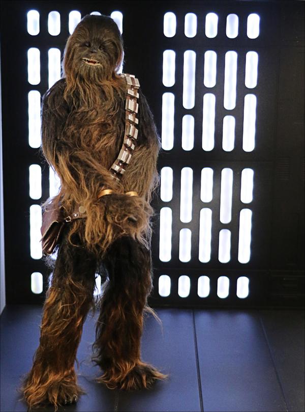 Star Wars Diorama - Death Star hallway