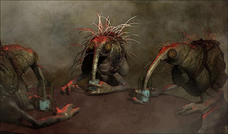 Martin Rezard - Maz Kanata castle aliens