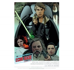 official Echo Base Charity Con star wars poster widget