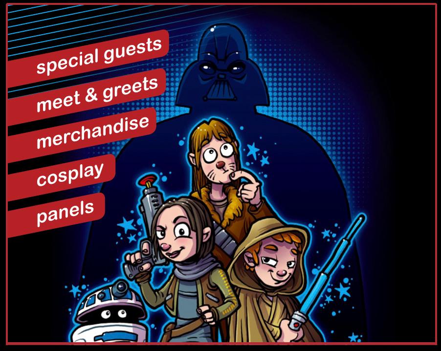 Het Star Wars evenement van Nederland