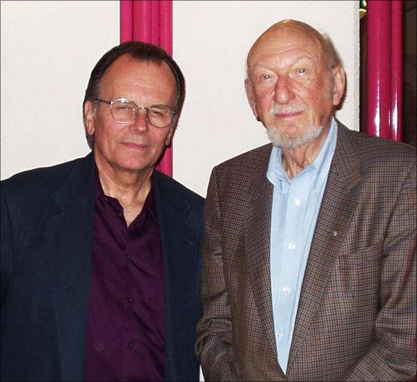 Producer Gary Kurtz en regisseur Irvin Kershner
