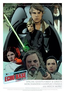 Echo Base Charity Con official star wars poster