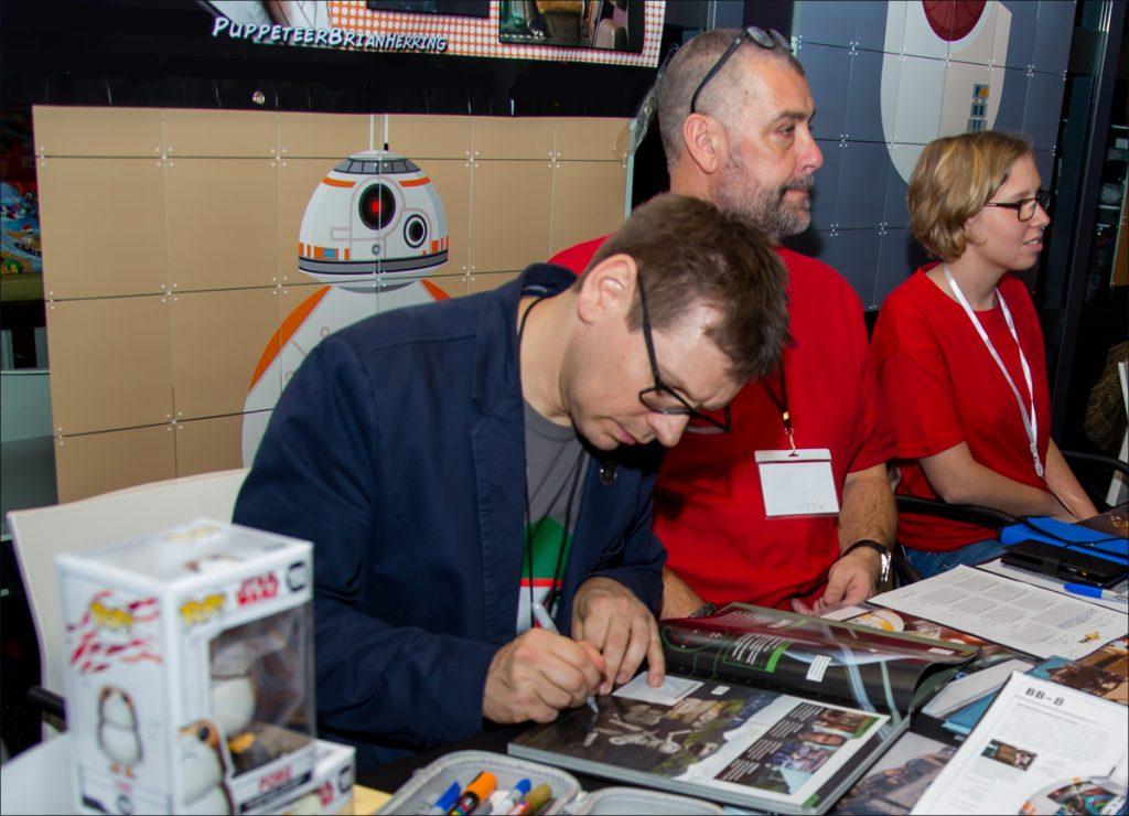 Brian Herring signing at Echo Base Con 2017