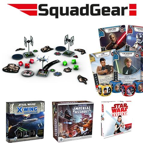 Star Wars miniature games van SquadGear