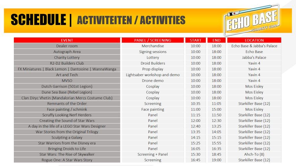 Programma - activiteiten